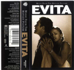 EVITA SOUNDTRACK - CASSETTE ALBUM